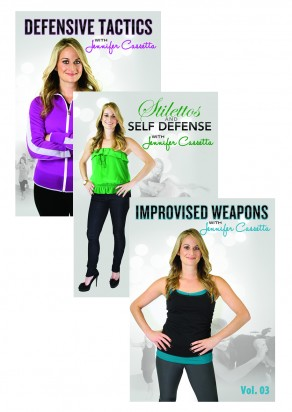 Stilettos and Self Defense with Jennifer Cassetta